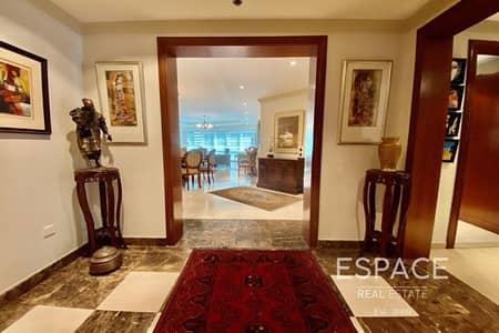 فلیٹ 3 غرف نوم للايجار في دبي مارينا، دبي - Elegant | Furnished | Beautiful 3BR Plus Maids