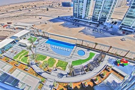 استوديو  للايجار في مجمع دبي للعلوم، دبي - New Studio | Pool View | One Month Free