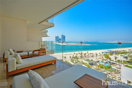 2 Bedroom Flat for Rent in Palm Jumeirah, Dubai - Full Sea Views | Excellent Condition | Five Star