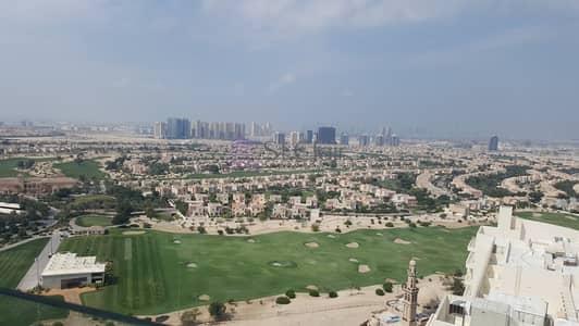 استوديو  للبيع في مدينة دبي الرياضية، دبي - FULLY FURNISHED STUDIO FULL GOLF COURSE 380K