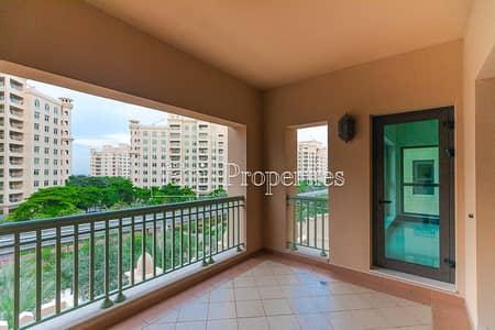 فلیٹ 2 غرفة نوم للايجار في نخلة جميرا، دبي - Unfurnished - Type C - Park - Available March End