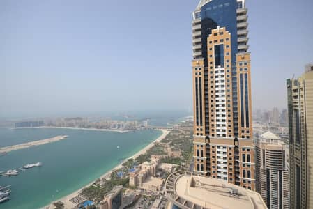 2 Bedroom Apartment for Rent in Dubai Marina, Dubai - 2 BHK For Rent   Sea View   Princess Tower   Furnished