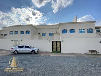 7 Bedroom Villa for Rent in Mohammed Bin Zayed City, Abu Dhabi - 7 MASTER BEDROOMS  | SINGLE ROW VILLA