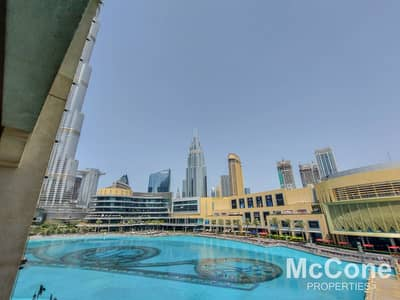 2 Bedroom Apartment for Rent in Downtown Dubai, Dubai - Fountain & Burj Khalifa View | Unique Home