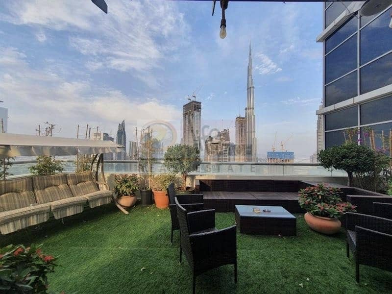 2 Double Terrace 4Br | Burj Fountain View | Quality Upgrade