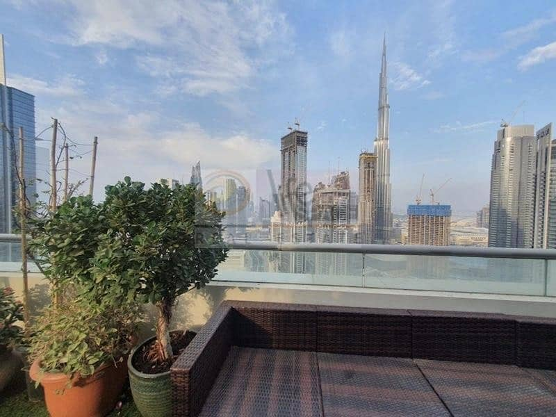 22 Double Terrace 4Br | Burj Fountain View | Quality Upgrade