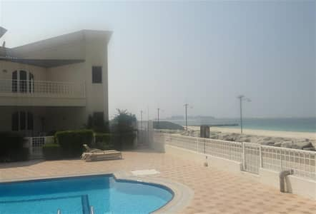 Excellent 4 bedroom plus maid compound villa on the Beach