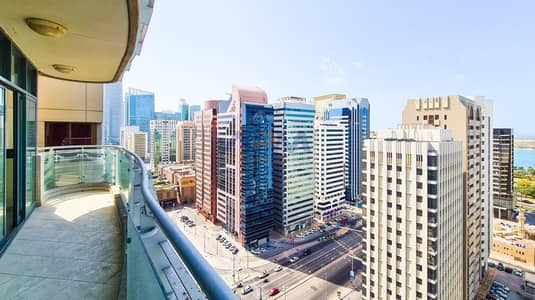 3 Bedroom Apartment for Rent in Sheikh Khalifa Bin Zayed Street, Abu Dhabi - Spacious Size 3BHK With Facilities  + Maid + Balcony.