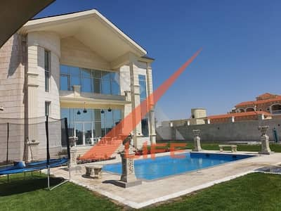 5 Bedroom Villa for Sale in Al Hamidiyah, Ajman - april offers ! luxury Villa adorable design personal finishing  High quality stone for sale in the most Elegant area in ajman