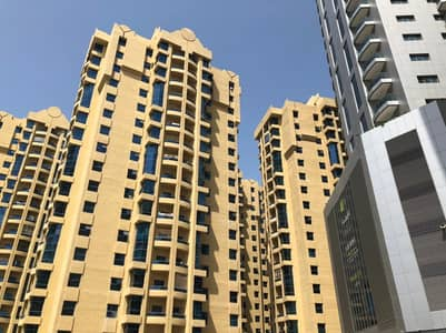 2 Bedroom Flat for Rent in Ajman Downtown, Ajman - BEST OFFER TWO BED ROOMS HALL WITH MAID ROOM BIG SIZE 26000/ IN AL KHOR TOWERS