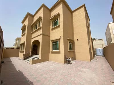 5 Bedroom Villa for Sale in Al Rawda, Ajman - For sale, a new villa, super deluxe finishes, second piece of a distinguished street, financing a freehold bank for all nationalities