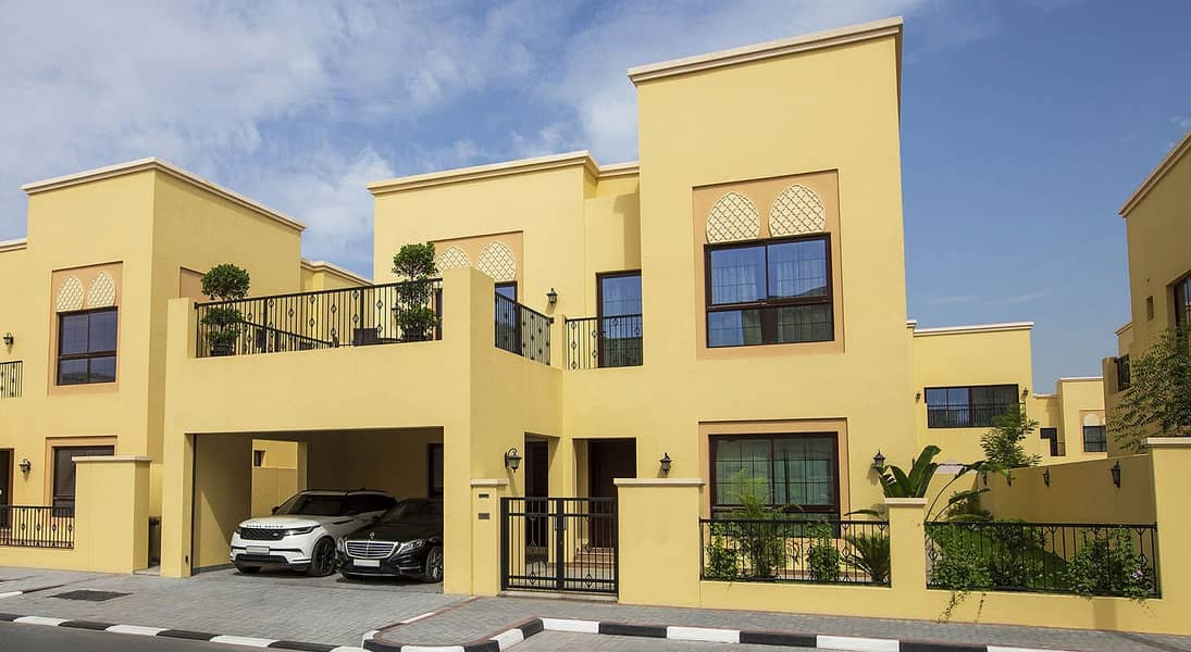 Excellent and Brand New | 4 Bedroom plus Maid's Room Villa | Only GCC Nationals | For Sale in NAD AL SHIBA