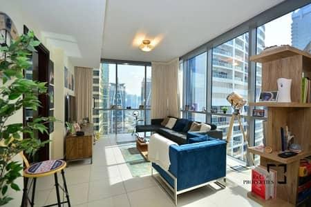 فلیٹ 1 غرفة نوم للايجار في أبراج بحيرات الجميرا، دبي - Lake View | With Kitchen Appliances| Next to Metro