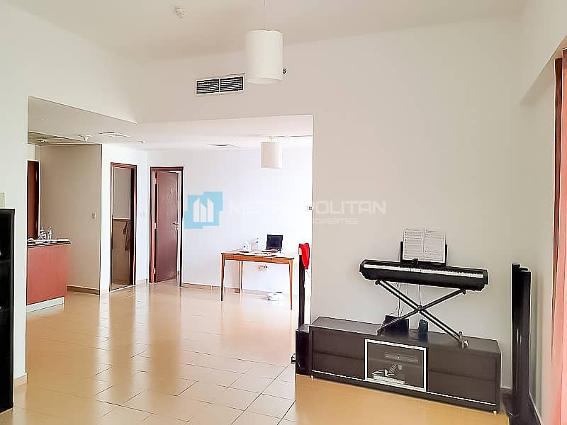 2 Large 1BR|Partial sea view| Vacant soon| Mid Floor