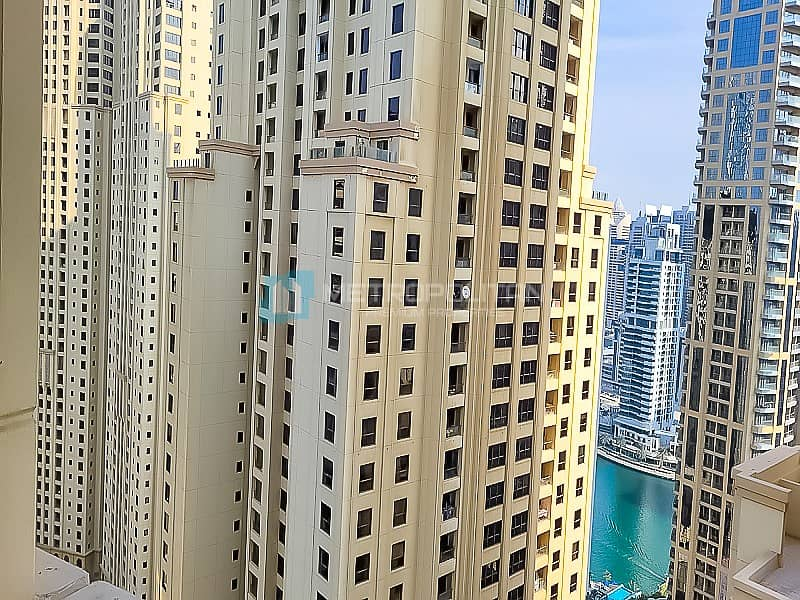 14 Large 1BR|Partial sea view| Vacant soon| Mid Floor