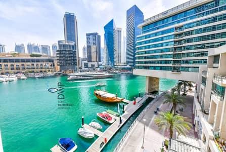 شقة 2 غرفة نوم للبيع في دبي مارينا، دبي - Genuine Listing ! Large 2BR with White Goods | Stunning Marina View|UNIT 02|Full 5* Maintenance Package