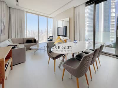2 Bedroom Flat for Rent in Business Bay, Dubai - Luxury Fully Furnished All Inclusive 2 Bedrooms Apartment