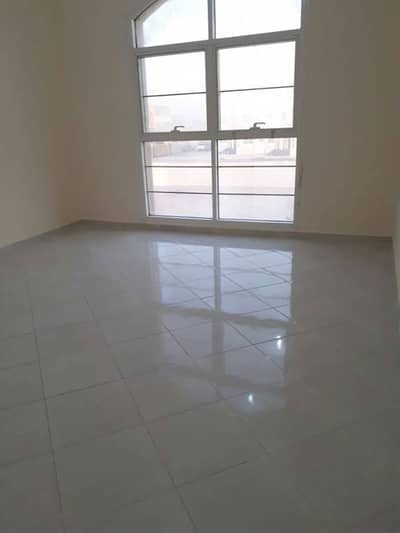 For Rent In Khalifa (B) City (2 b/r) (hall) Huge Space- Good Location- First Tenant-