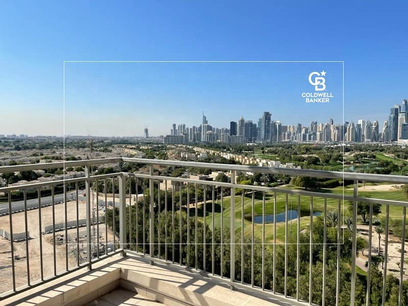 2 3BR Duplex with huge roof top Golf Course view Vacant