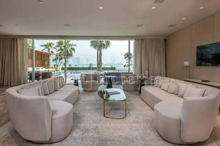 فیلا 3 غرف نوم للبيع في نخلة جميرا، دبي - Beachfront Villa in the FIVE Hotel | Private Pool