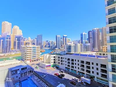 2 Bedroom Apartment for Rent in Dubai Marina, Dubai - FURNISHED with Balcony - New Furniture