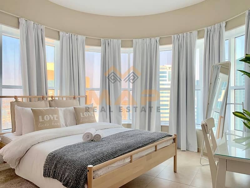 2 Studio with balcony 5 minutes from Dmcc metro in Jlt