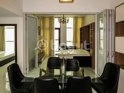 شقة 2 غرفة نوم للايجار في الفرجان، دبي - Furnished 2B/R+Hall | Starz By Danube