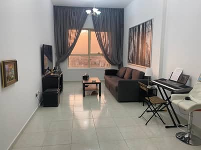1 Bedroom Apartment for Sale in Emirates City, Ajman - Full Furnished One Bed Room For Sale in Gold Crest Dreams A Tower With Car Parking Ajman Only (160k)