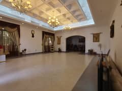 Luxury furniture villa for rent in Al warqqa ( 11 bed room +2 hall + majls + maid room +3 kitchen +service block +garden + cover parking)