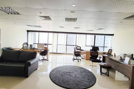 Office for Rent in Jumeirah Lake Towers (JLT), Dubai - Fully Furnished Office | Open Layout | Class A Building | DMCC