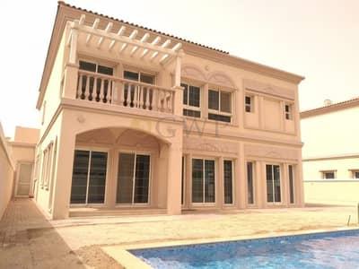 فیلا 4 غرف نوم للايجار في مثلث قرية الجميرا (JVT)، دبي - Private Pool | Brand New | Corner | Ready