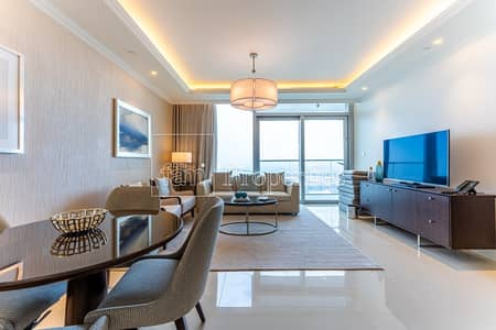 1 Bedroom Apartment for Rent in Downtown Dubai, Dubai - High-Floor | Canal View | Fully Furnished