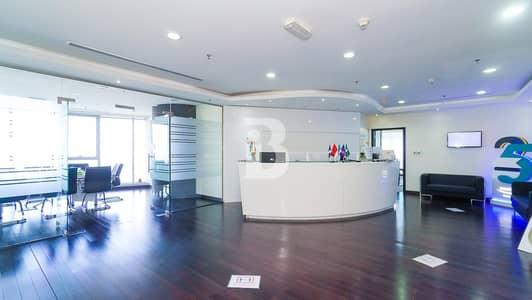 مکتب  للبيع في الخليج التجاري، دبي - Fitted office | The Citadel | Canal and Stable view
