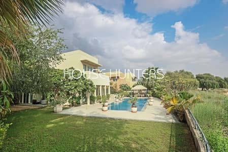 5 Bedroom Villa for Sale in Arabian Ranches, Dubai - Exclusive Golf Course Stunning 5 bed in Savannah