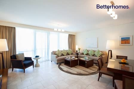 4 Bedroom Flat for Rent in Jumeirah Beach Residence (JBR), Dubai - Full Sea | Serviced Apartment | Fully Furnished