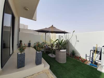 فیلا 3 غرف نوم للبيع في أكويا أكسجين، دبي - Fully Furnished | Ready to Move 3BR+M | Single Row Corner Villa