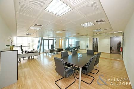 Office for Rent in Jumeirah Lake Towers (JLT), Dubai - Upgraded Fitout | Furn/Unfurn | Almas View