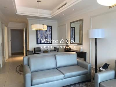 1 Bedroom Apartment for Rent in Downtown Dubai, Dubai - 1 Bedroom Apartment Pool View/Burj View