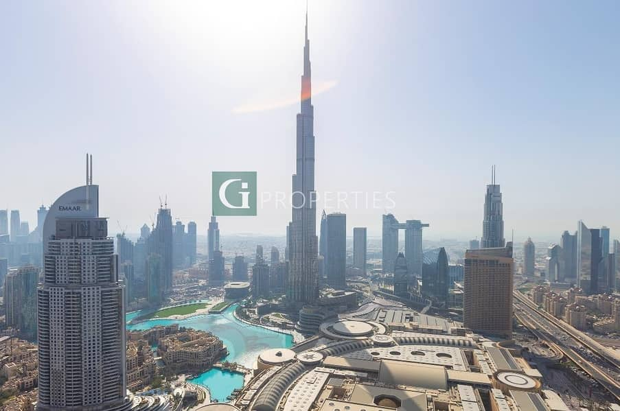 13 Unique Luxury Apartment with Burj Khalifa View
