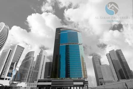 مکتب  للبيع في الخليج التجاري، دبي - Shell & Core Office With Partial Burj Khalifa View