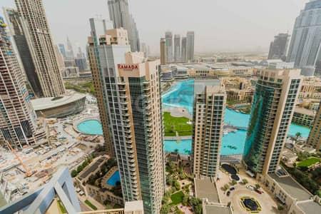 فلیٹ 2 غرفة نوم للايجار في وسط مدينة دبي، دبي - Higher Floor | 1-Bed | Community View