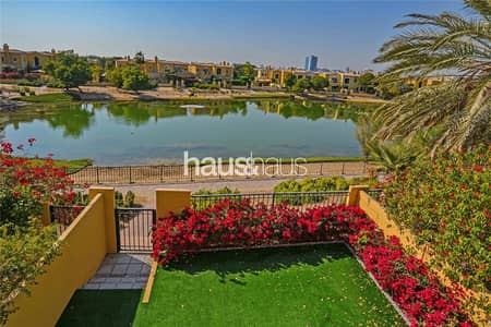 2 Bedroom Villa for Rent in Arabian Ranches, Dubai - Stunning lake view | Available now | White Finish