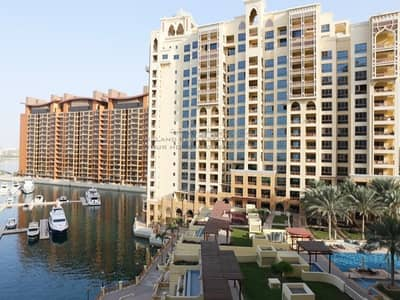 Furnished 3 bedroom with Burj and pool view