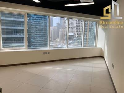 مکتب  للايجار في الخليج التجاري، دبي - Corner unit