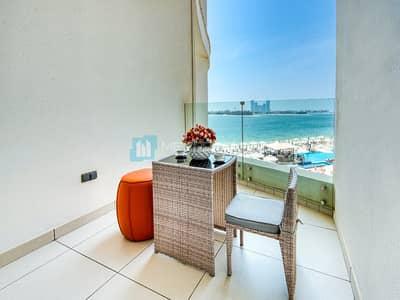 فلیٹ 1 غرفة نوم للبيع في نخلة جميرا، دبي - Great value | Captivating view | Modern 1 bed apt