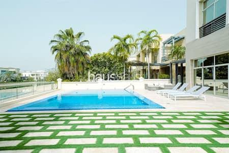 فیلا 6 غرف نوم للبيع في تلال الإمارات، دبي - Vacant | Fully Furnished | Modern | Lake View