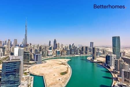 2 BR| Burj Views| High floor|Unfurnished