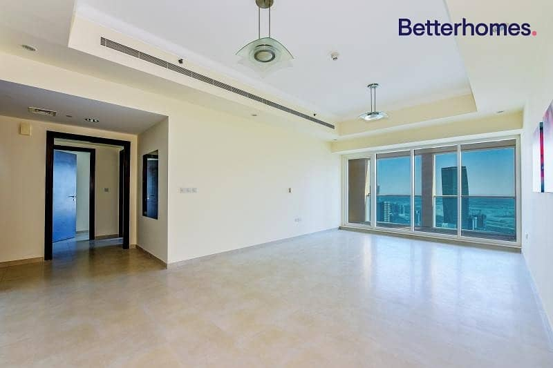 2 2 BR| Burj Views| High floor|Unfurnished