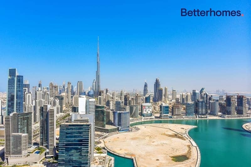 22 2 BR| Burj Views| High floor|Unfurnished