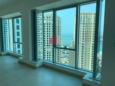 Full JBR View |Large Layout | Vacant and High Floor